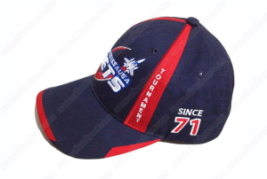 Custom high quality piping baseball caps and hats