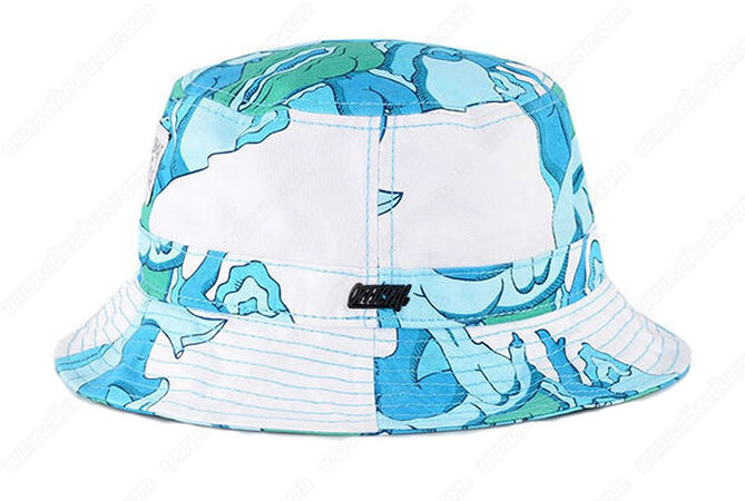 printed bucket hats for women