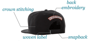 embroidery headwear manufacturer