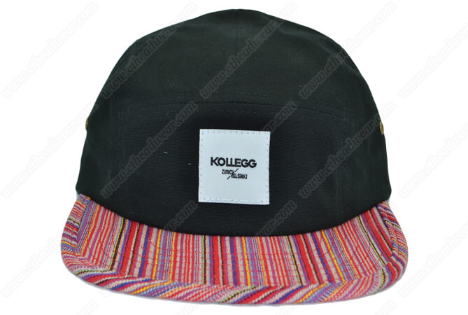 gaucho pattern 5 panel cap