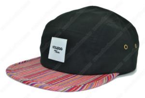 gaucho pattern 5 panel cap