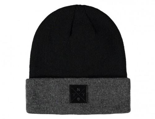 Knit beanie hats