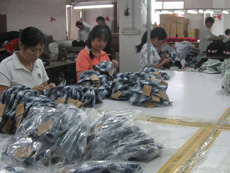 Headwear factory